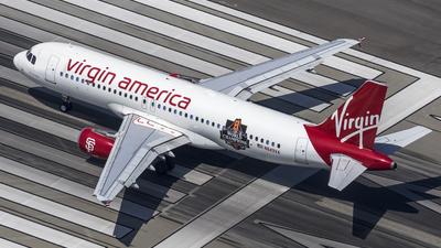 N849VA - Airbus A320-214 - Virgin America
