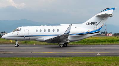 XB-PND - Raytheon Hawker 800 - Private