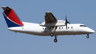 ZS-DHC - Bombardier Dash 8-102 - CemAir