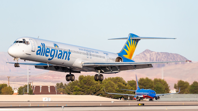 N419NV - McDonnell Douglas MD-83 - Allegiant Air