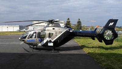 F-GUFB - Eurocopter EC 135 - Mont Blanc Hélicoptères