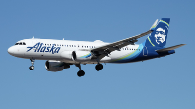 A picture of N285VA - Airbus A320214 - Alaska Airlines - © EdwardS