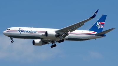 A picture of N378CX - Boeing 767323(ER)(BDSF) - Amerijet International - © Devin R