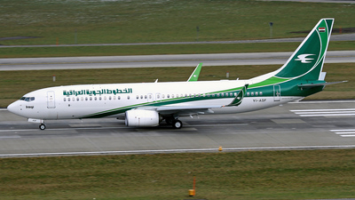 YI-ASF - Boeing 737-81Z - Iraqi Airways