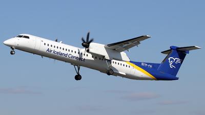 A picture of TFFXI - De Havilland Canada Dash 8400 - Icelandair - © Alberto Cucini