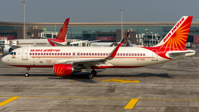 A picture of VTEXD - Airbus A320214 - Air India - © Keerat Virk