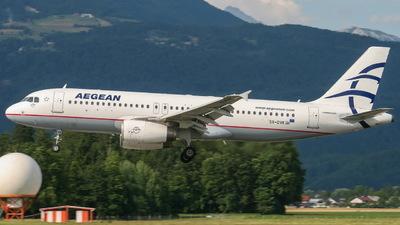 A picture of SXDVK - Airbus A320232 - Aegean Airlines - © Bostjan Henigman