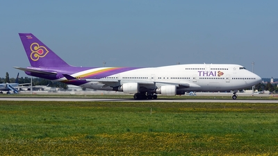 HS-TGY - Boeing 747-4D7 - Thai Airways International