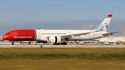 A picture of LNLNJ - Boeing 7879 Dreamliner - Norwegian - © Raul Sepulveda Merced