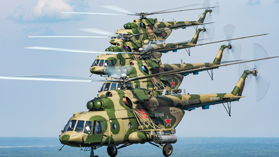 RF-90681 - Mil Mi-8MT Hip - Russia - Air Force