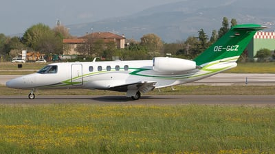 OE-GCZ - Cessna 525 Citation CJ4 - Private