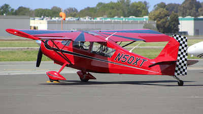 N50XT - American Champion 8KCAB Super Decathlon - Private