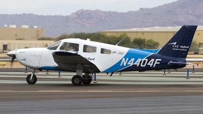 A picture of N4404F - Piper PA28181 - [2843727] - © Jeremy D. Dando
