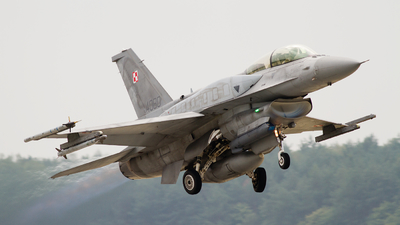 4080 - Lockheed Martin F-16D Fighting Falcon - Poland - Air Force
