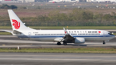 B-5447 - Boeing 737-89L - Air China