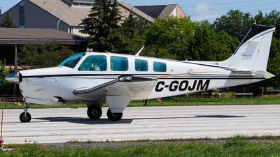 C-GOJM - Beechcraft A36 Bonanza - Private