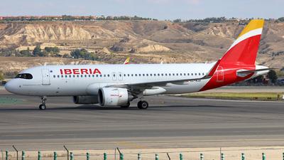 EC-NJU - Airbus A320-251N - Iberia