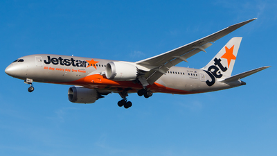 VH-VKK - Boeing 787-8 Dreamliner - Jetstar Airways