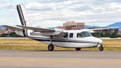 A picture of N690RR - Aero Commander 500B - Central Airlines - © HA-KLS