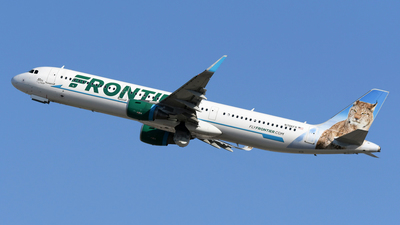 N706FR - Airbus A321-211 - Frontier Airlines