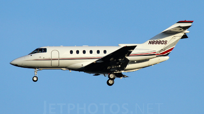 N898QS - Raytheon Hawker 800XP - NetJets Aviation