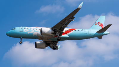 A picture of B307G - Airbus A320251N - Loong Air - © cc12214