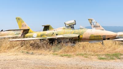 37575 - Republic RF-84F Thunderflash - Greece - Air Force