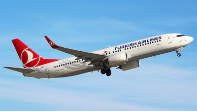 TC-JVF - Boeing 737-8F2 - Turkish Airlines