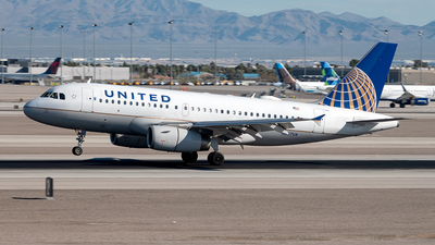 A picture of N897UA - Airbus A319132 - United Airlines - © Yan777