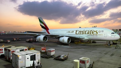A6-EDK - Airbus A380-861 - Emirates