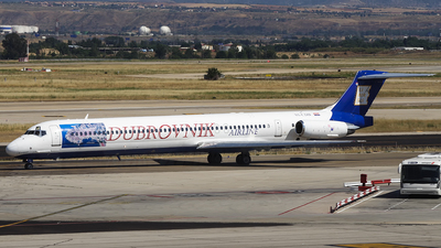 9A-CDB - McDonnell Douglas MD-83 - Dubrovnik Airline