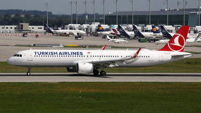 TC-LTF - Airbus A321-271NX - Turkish Airlines