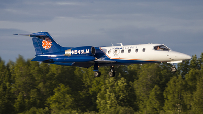 N543LM - Gates Learjet 35A - LifeMed Alaska