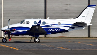JA81AJ - Beechcraft C90GTi King Air - Asia Air Survey
