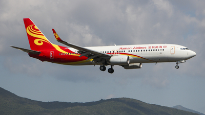 A picture of B206F - Boeing 73784P - Hainan Airlines - © Zhiyu QU