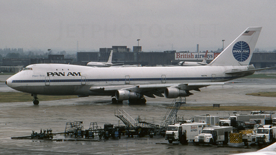 N657PA - Boeing 747-121 - Pan Am