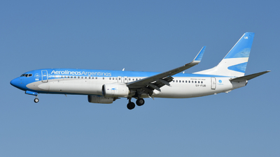 A picture of LVFUB - Boeing 7378HX - Aerolineas Argentinas - © Martín Alonzo
