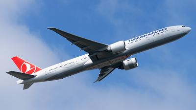 A picture of TCLJA - Boeing 7773F2(ER) - Turkish Airlines - © Trevor Barker