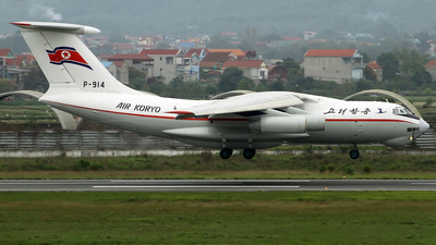 P-914 - Ilyushin IL-76MD - Air Koryo