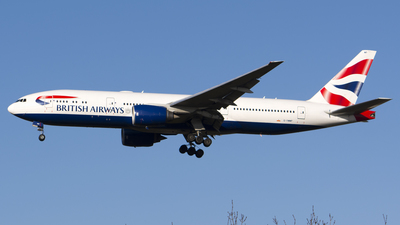G-YMMP - Boeing 777-236(ER) - British Airways