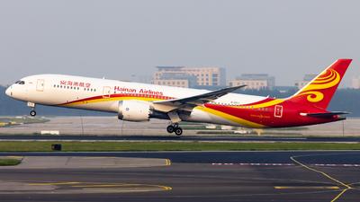 A picture of B207J - Boeing 7879 Dreamliner - Hainan Airlines - © TasKforce404-HK416
