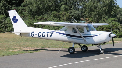 G-CDTX - Reims-Cessna F152 - Private