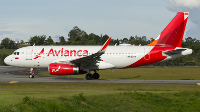 N690AV - Airbus A319-132 - Avianca