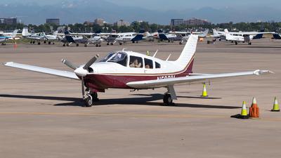 A picture of N5881V - Piper PA28R201T - [28R7703160] - © Reuben Morison