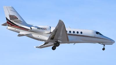 N690QS - Cessna Citation Latitude - NetJets Aviation