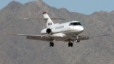 N855QS - Raytheon Hawker 800XP - NetJets Aviation