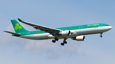 A picture of EIGCF - Airbus A330302 - Aer Lingus - © Moritz Babl