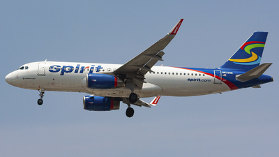 A picture of N633NK - Airbus A320232 - Spirit Airlines - © chalymtz