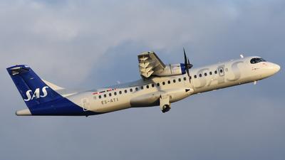 A picture of ESATI - ATR 72600 - SAS - © Adam Lanzen