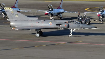 FAC3058 - IAI Kfir C10 - Colombia - Air Force